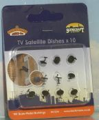 Bachmann 44534 TV satellite dishes - reduced
